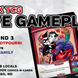 MetaX TCG Live Gameplay – Paradox Locals 7/21/18, Round 3