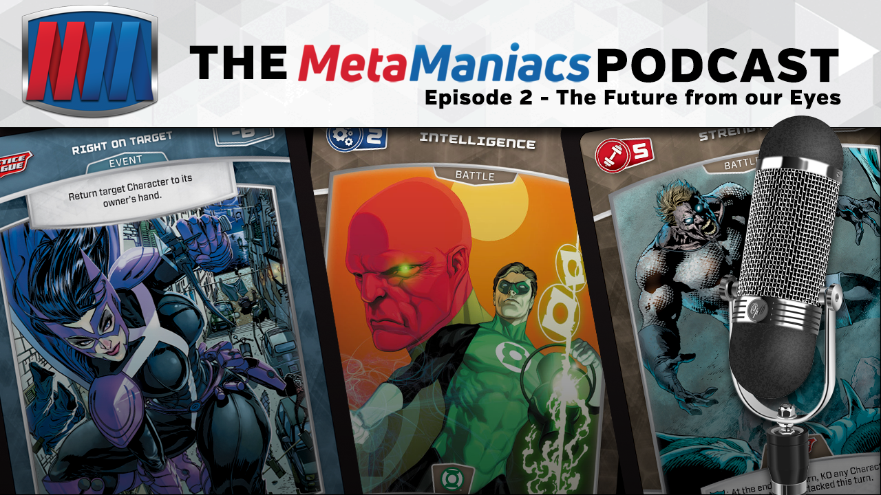 The MetaManiacs Podcast – Episode 2: The Future from our Eyes
