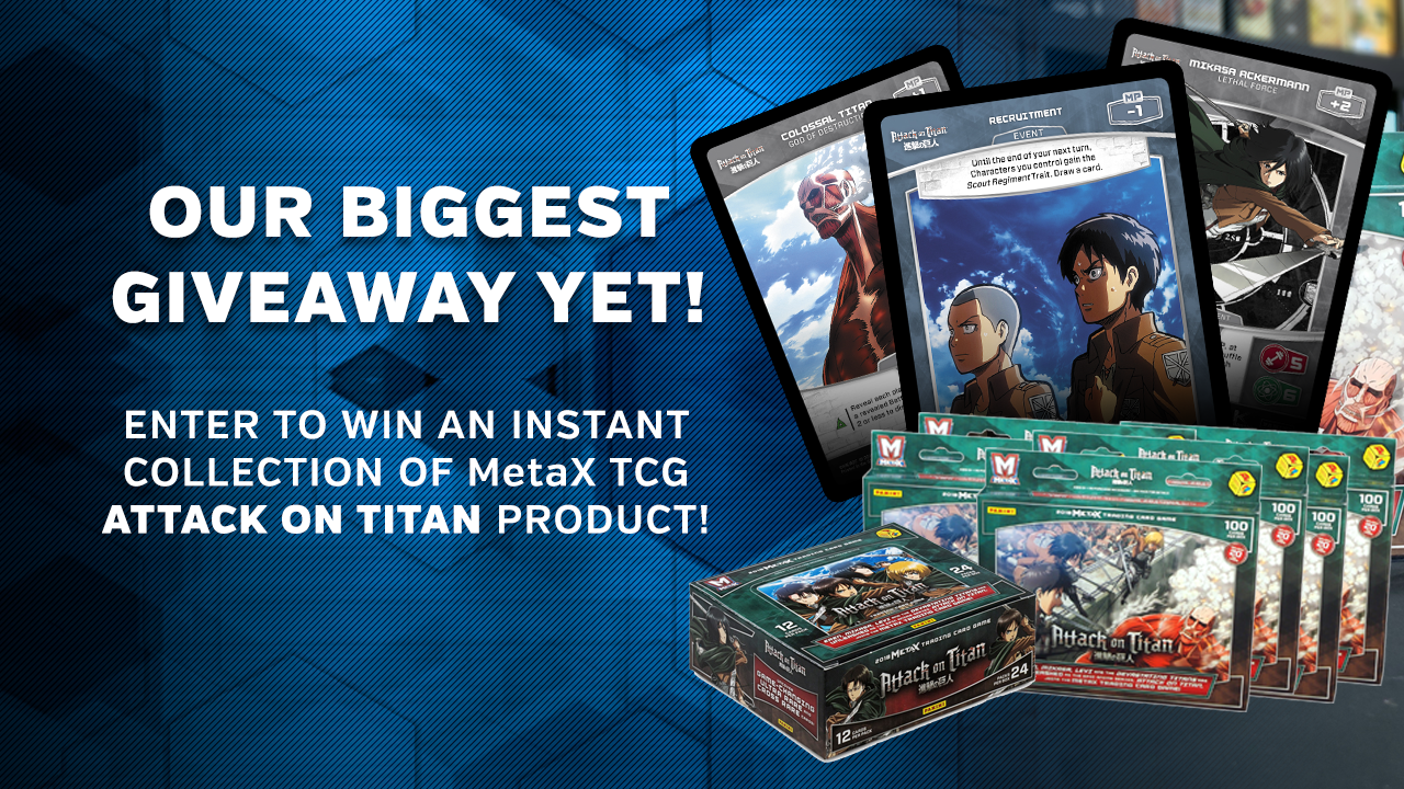 Attack on Titan Instant Collection Giveaway