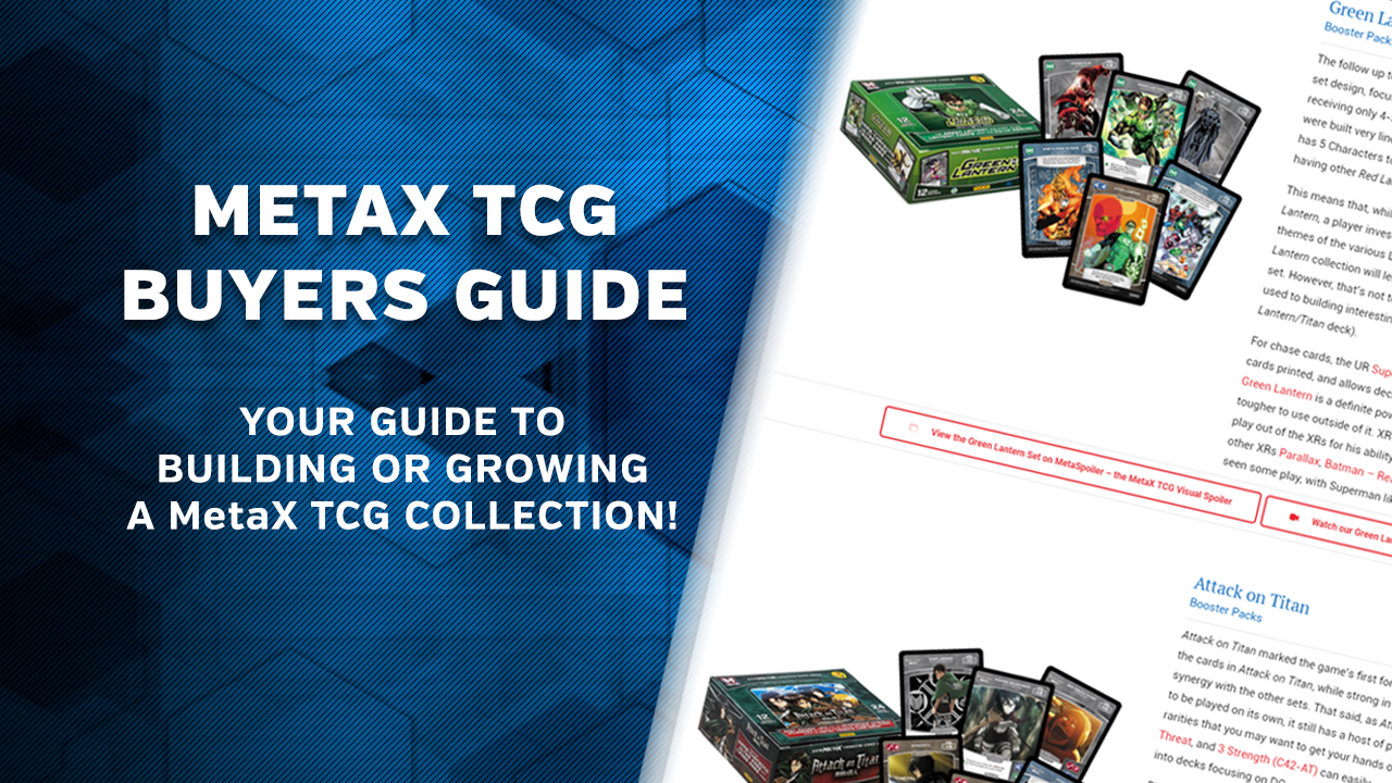 Now Available: MetaX TCG Buyers Guide
