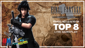 FFTCG Fargo, ND Local Qualifier – Top 8 Live Gameplay (with Commentary)