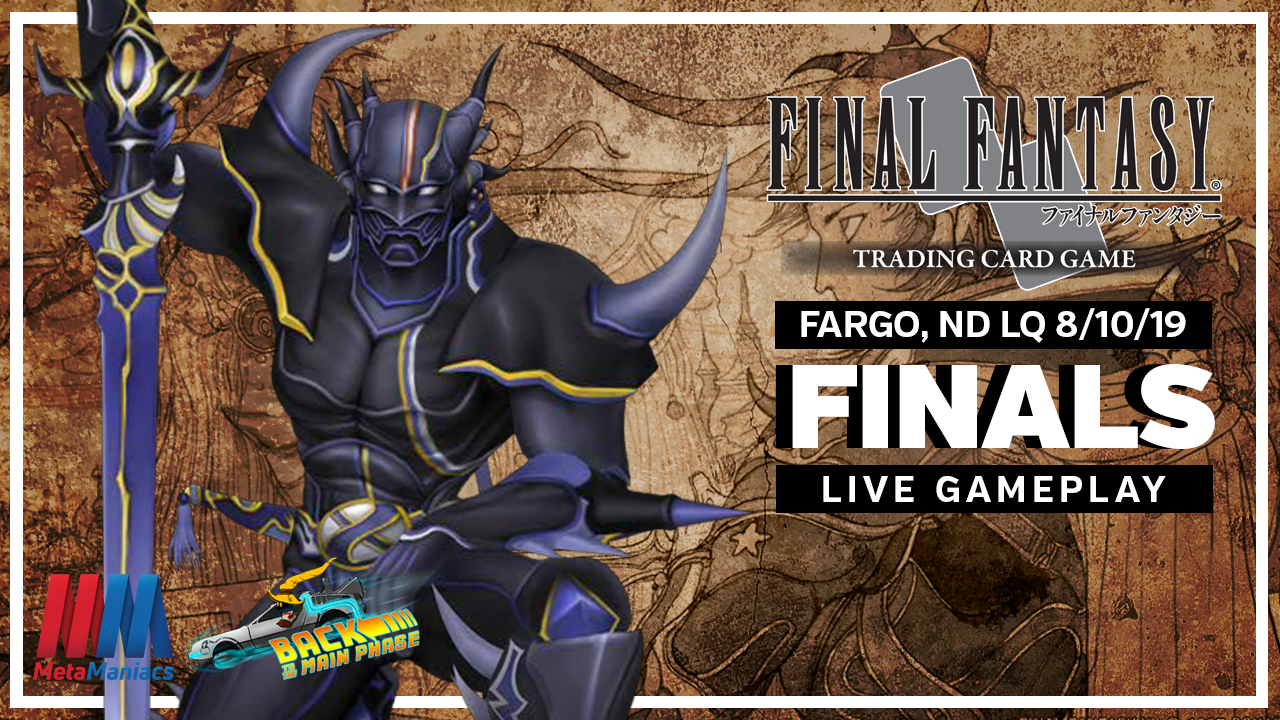 FFTCG Fargo, ND Local Qualifier – Finals Live Gameplay (with Commentary)