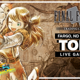 FFTCG Fargo, ND Local Qualifier - Top 4 Live Gameplay (with Commentary)