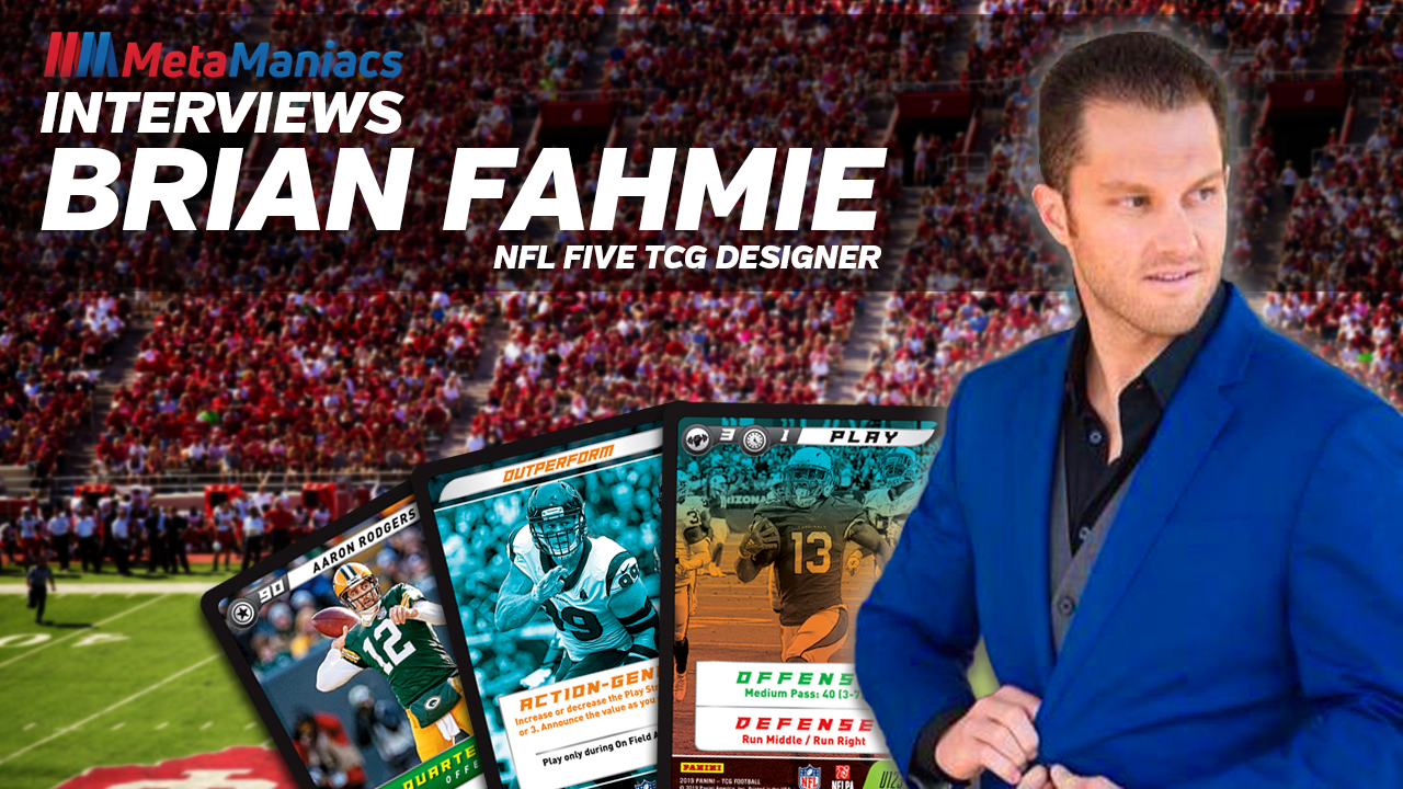 Interview with Brian Fahmie, NFL Five TCG Designer