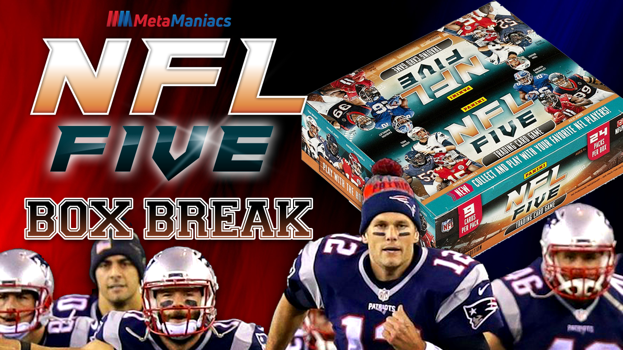 NFL Five TCG Box Break