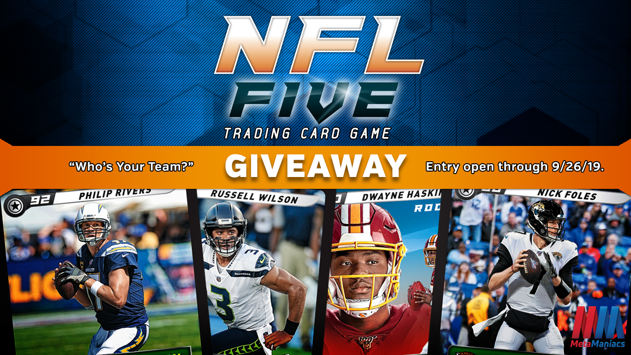 "NFL Five TCG ""Who's Your Team?"" Giveaway!"