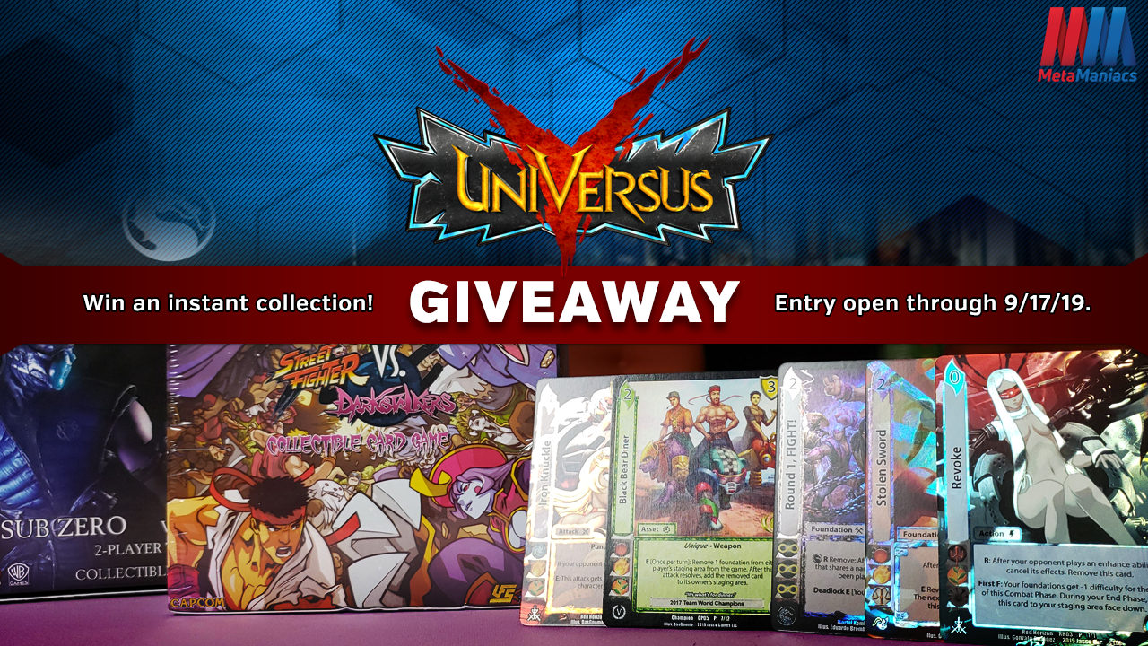 UniVersus Tag Team Giveaway – Win an Instant Collection!