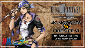 4 Color Moogles vs Fire/Ice VI – FFTCG Nationals Testing Live Gameplay