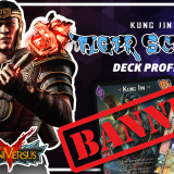 Kung Jin Tiger Scream UniVersus/UFS Deck Profile - Tiger Scream now BANNED!