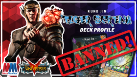 Kung Jin Tiger Scream UniVersus/UFS Deck Profile – Tiger Scream now BANNED!