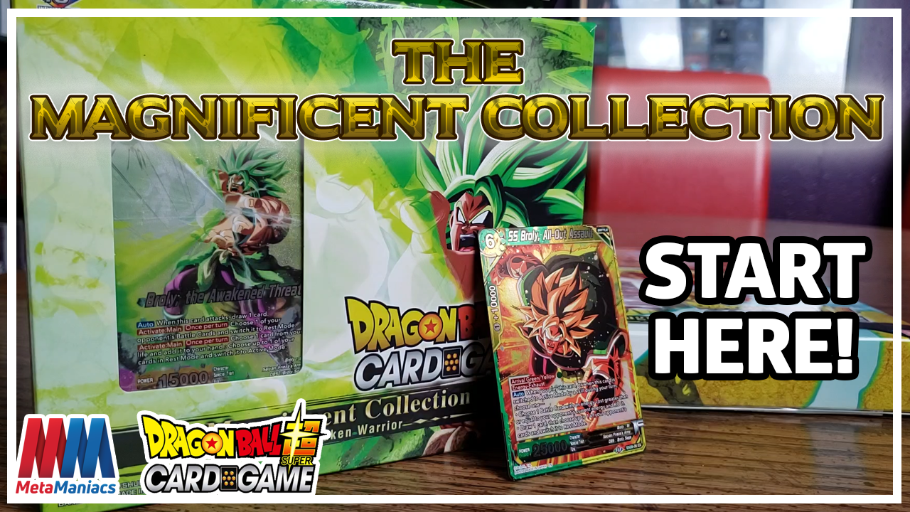 The Magnificent Collection – The Best Product to Start Playing the Dragon Ball Super Card Game