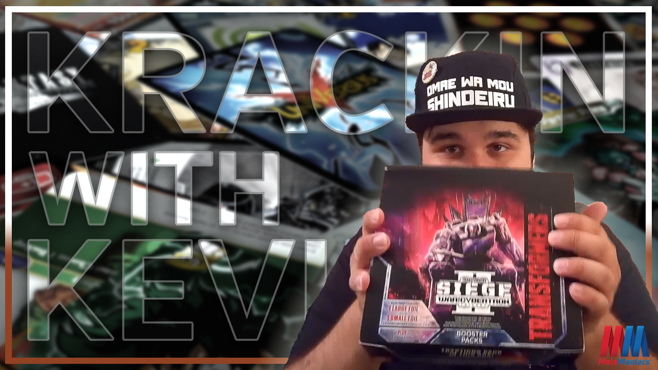 War for Cybertron Siege II  – Transformers TCG BOX OPENING! ⚡️ Krackin' with Kevin