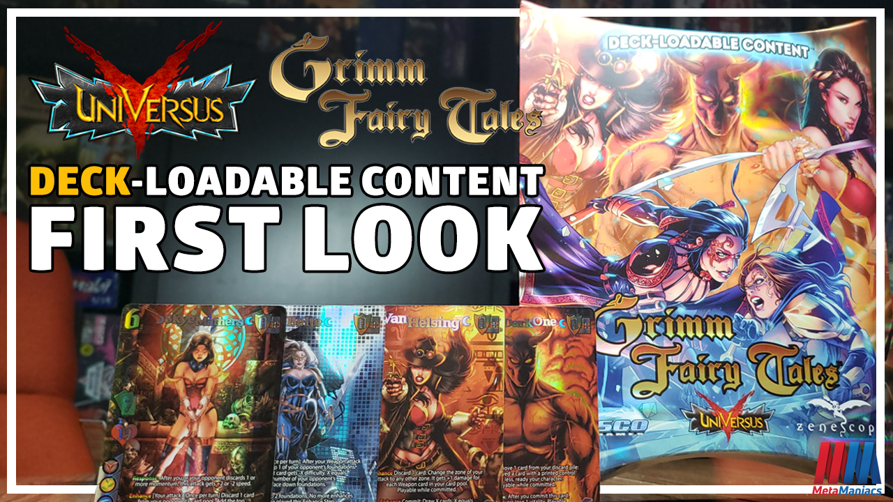 FIRST LOOK: UniVersus DLC – Grimm Fairy Tales