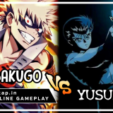 Bakugo vs Yusuke! UniVersus CCG Online Gameplay