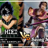 Hiei vs Seong Mi-Na! UniVersus CCG Online Gameplay