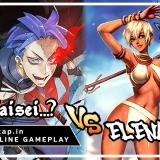 Taisei...? vs Elena! UniVersus CCG Online Gameplay