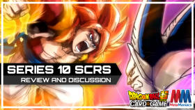 Reviewing all FOUR new Secret Rares in DBSCG Series 10 – Rise of the Unison Warrior
