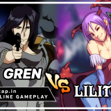 Gren vs Lilith - Commons Only! UniVersus CCG Online Gameplay