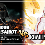Noob Saibot vs Remiliss - Fast Attacks Only! UniVersus CCG Online Gameplay