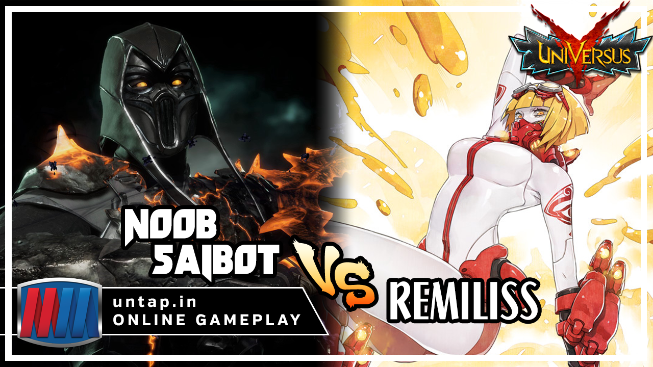 Noob Saibot vs Remiliss – Fast Attacks Only! UniVersus CCG Online Gameplay