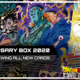 Reviewing ALL New Anniversary Box 2020 Cards! (DBSCG)