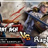 Combat Ash vs Raphael - UniVersus CCG Online Gameplay