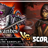 Cervantes vs Scorpion - Highlander Style! UniVersus CCG Online Gameplay