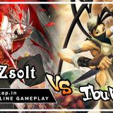 Zsolt vs Ibuki - UniVersus CCG Online Gameplay