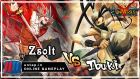 Zsolt vs Ibuki – UniVersus CCG Online Gameplay