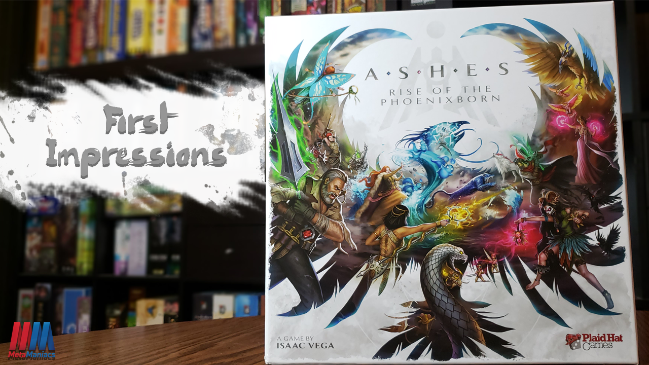 First Impressions – Ashes: Rise of the Phoenixborn Card Game