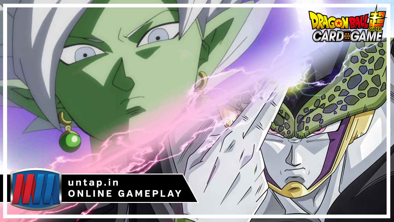 Set 2 Fused Zamasu vs G/Y Surge Cell – Dragon Ball Super Card Game Online Gameplay