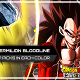 Top Picks in Each Color from DBS Series 11 - Vermilion Bloodline