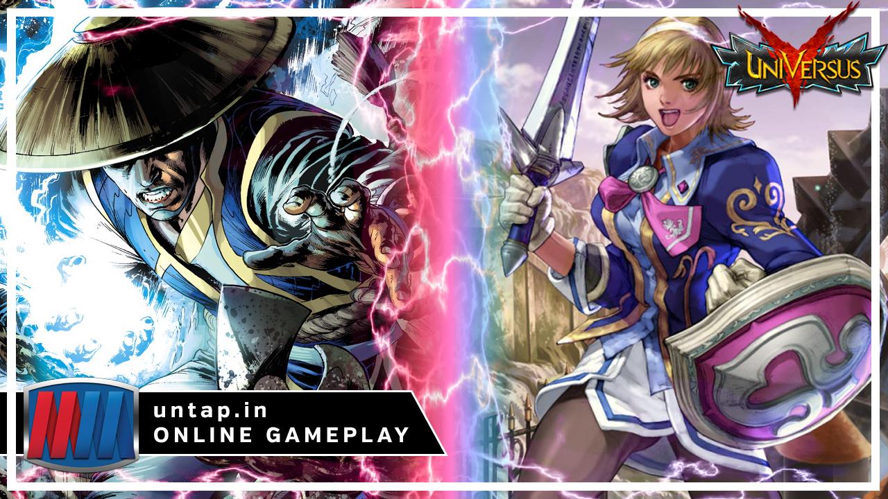 Raiden vs Cassandra – UniVersus CCG Online Gameplay