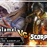 Zasalamel vs Scorpion - UniVersus CCG Online Gameplay