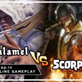 Zasalamel vs Scorpion - UniVersus CCG Online Gameplay