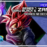 DBSCG Deck Profile: Mono-Blue Set 7 Goku Black & Zamasu (Set 10)