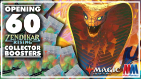 Opening 60 MTG ZENDIKAR RISING Collector Boosters!