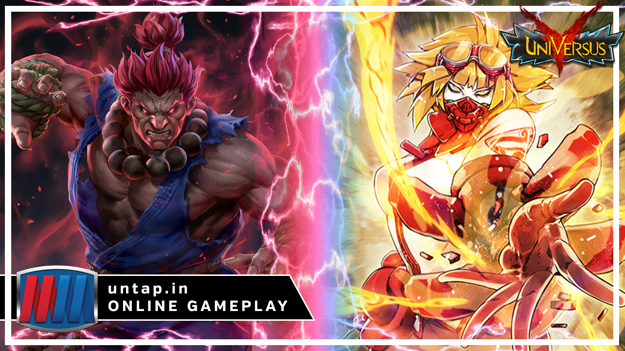 Akuma vs Remiliss – UniVersus CCG Online Gameplay