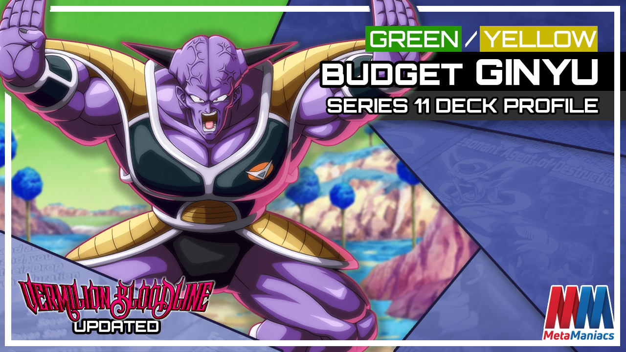 DBSCG Deck Profile: Green/Yellow Competitive Budget Captain Ginyu