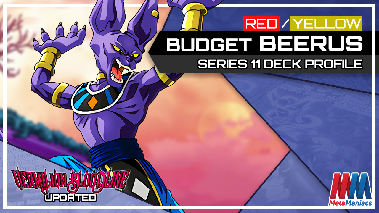 DBSCG Deck Profile: Red/Yellow Competitive Budget Beerus