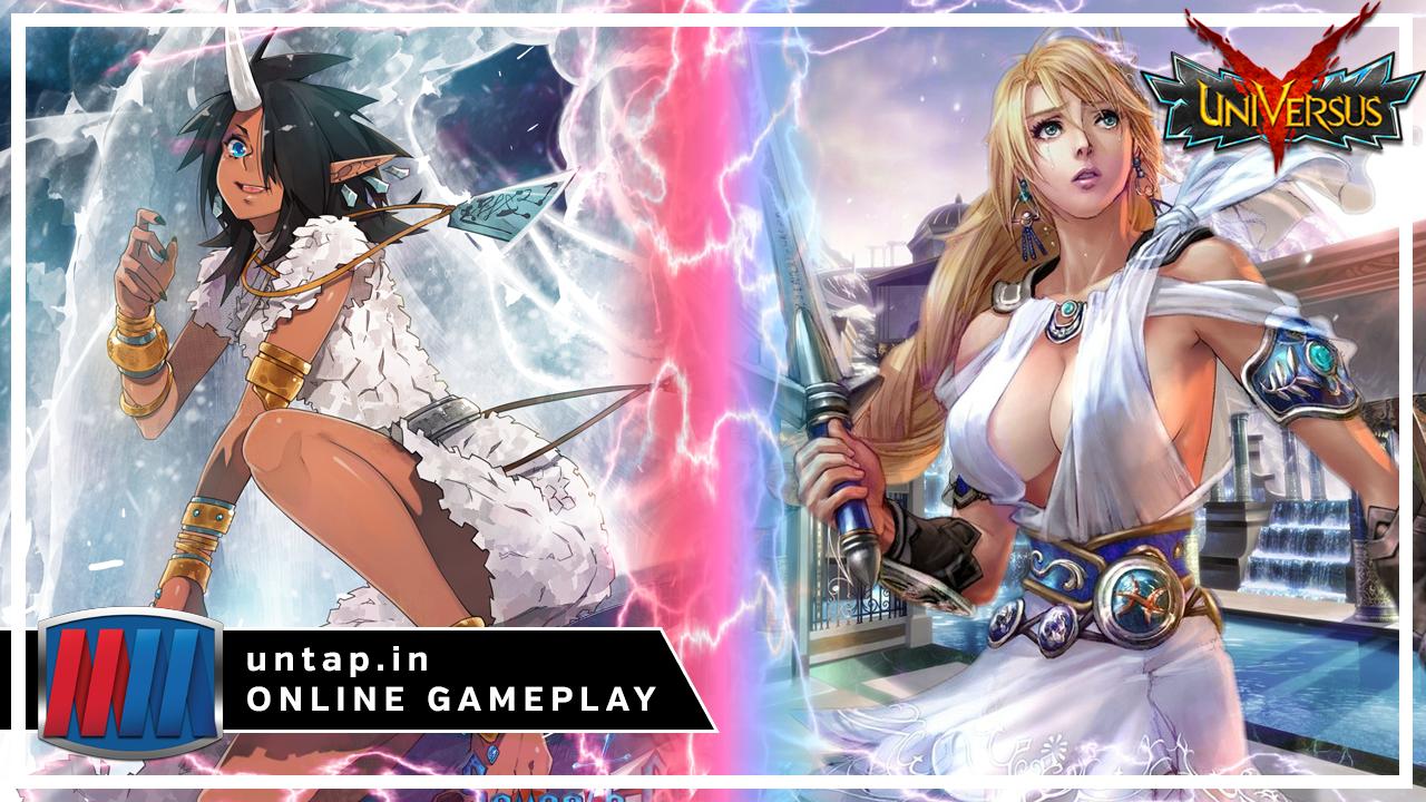 Celinka vs Sophitia/Siegfried – UniVersus CCG Online Gameplay