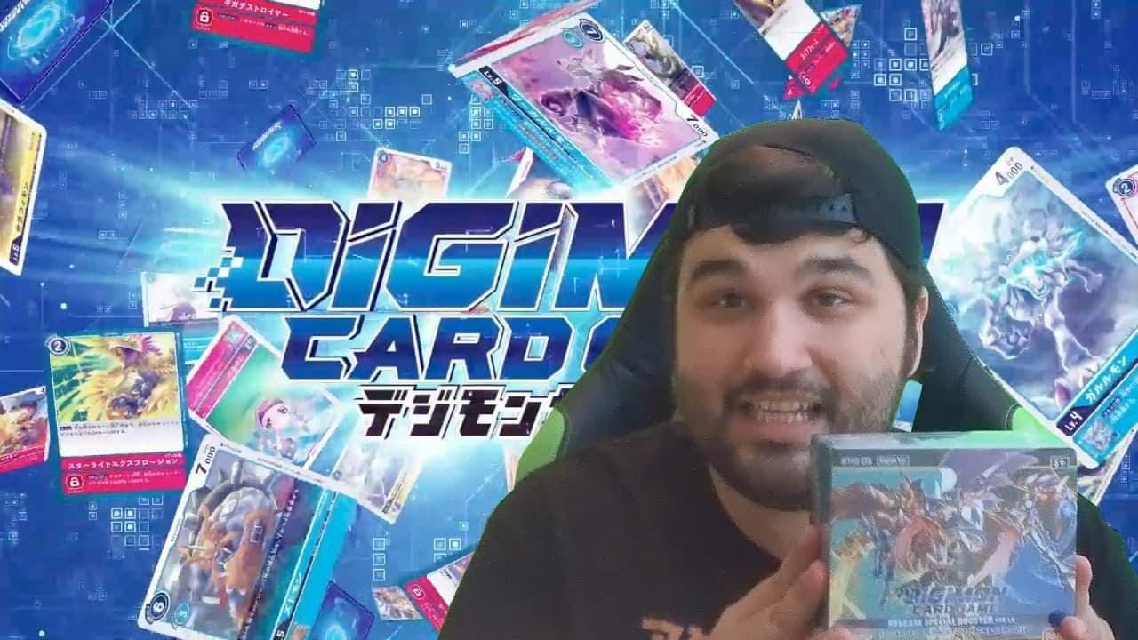 Digimon Set 1.5 Box Opening! – Krackin' with Kevin
