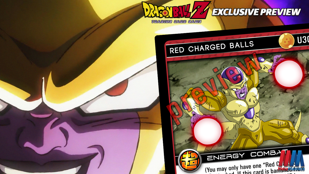 Red Charged Balls – FanZ Set 16 Exclusive Preview!